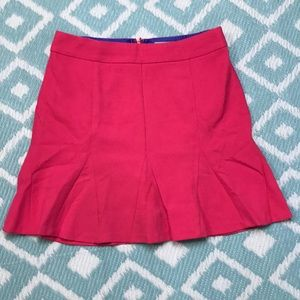 Banana Republic sz 10 Pink Pleated Skirt Aline